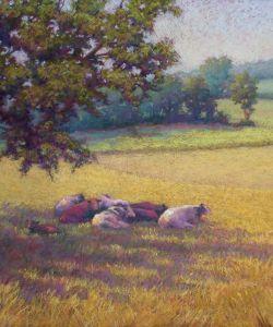 Lisa Sheppard Pastel Landscape Workshop October 292330