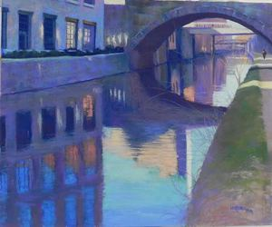 Third Place CampO Canal Georgetown by Jean Hirons