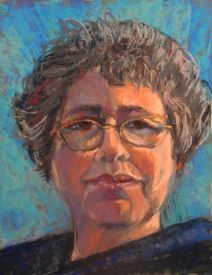 Self Portrait by Joyce Lister